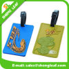 Eco-Friendly Soft PVC Rubber Luggage Tag for Travel (SLF-LT020)