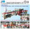 Plastic Machinery Polycarbonate PC Hollow Grid Sheet Extrusion Machine
