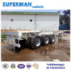 40FT Tri Axle Skeleton Container Frame Transport Cargo Semi Trailer