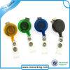 Retractable ID Badge Reel with Nickel Plated Swivel Hook