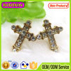 Vintage Styles Antique Pewter Plating Cross Earring Findings #21619