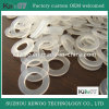 Eco-Friendly Food Grade Clear Silicone Round Rubber Gasket for Bottle