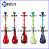 Colorful Zinc Alloy Stem Smoking Shisha Glass Hookah (Amy Hookah)