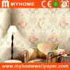 Popular Embossed Floral Wall Covering for Decoraion