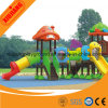 Plastic Outdoor Playground Equipment Set in Prak