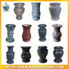 Granite Stone Cemetery Flower Vase for Headstone Accessories