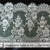 Wedding Dress Eyelash Lace Voile Lace (M2159)