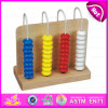 2015 Wooden Kid Math Toy Mini Abacus, Wooden Children 4 Rows Abacus Toy, High Quality Brightly-Colored Wooden Bead Abacus Wj276089