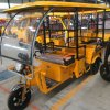 Made in China Solar Power Three Wheel Cargo Tricycle