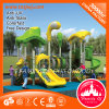 Preschool Stainless Steel Outdoor Playground Double Slide