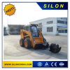 3t Lonking Skid Steel Loader with The Rotary Drillrig