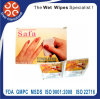 Wholesale Single Packed Nail Polish Remover Wet Towels/ Wipes