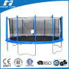 15FT Round Trampoline with Enclosure (HT-TP15) , Big Trampoline