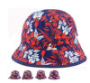 New Design Cotton Red /White/Ink Bucket Hat