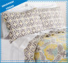 Leafs Pattern Printed Polyester Quilted Coverlet Set