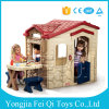 Plastic Play House Kids Play Dollhouse Kid Toy Plastic Garden House