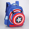 Kid′s Cool Captain America School Backpack Bookbag Rucksack Bag Schoolbag for Boys