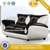 Modern Office Furniture Steel Metal Leather Sofa (HX-8N2039)