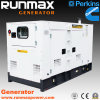 120kw/150kVA Super Silent Perkins Power Electric Diesel Generator Set (RM120P2)