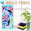 5000PCS Custom Logo Print Beach Towel