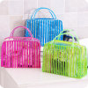 Ribbon Pattern PVC Makeup Bag