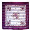 100% Pure Printing Satin Silk Scarf