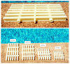 Anti Skid Grating 3 Pin Pool Overflow Grating