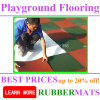 Ce En1177 Certificated Outdoor Safety Rubber Flooring Tile