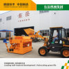 Qtm6-25 Cement Mobile Brick Making Machine / Egg Laying Concrete Brick Wall Building Machine