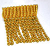 18 Colors 7.5cm Thick Bullion Fringe Tassel for Curtain Sofa Hometextiles