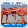Rail Mounted 10ton 50ton Double Girder Gantry Crane