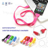 Color Flat USB Data and Chargering Cable Similar Noodles for Smart Phone (CW)