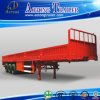 60 Tons Flatbed Type Side Wall Open Bulk Cargo Trailer