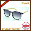 F14082 Wholesale Cheap Sunglasses with Bamboo Temples