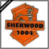 Sherwood Enamel Metal Pin