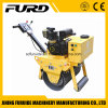 Diesel Walking Behind Single Steel Wheel Vibratory Road Roller
