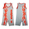 Custom Full Dye Sublimation Wrestling Singlet Wrestling Shirts with Low MOQ