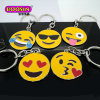 Promotional Wholesale Metal Emoji Charms Custom Keychain #15775