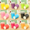 Bulk Cheap Pure Color Hot Paper Cup 8 Oz