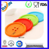 Cute Colorful Silicone Button Coaster Cup Mat Drink Placemat