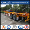 40FT 2axle Skeletal Container Trailer with Discharge Floor