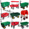 Collapsible Folding Wagon Cart with Canopy