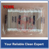 Mini Double Sharp End Huby Swab Industrial Cleanroom Cotton Swab