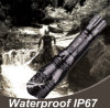 Bright Metal Outdoor Flashlight, Waterproof CREE Q5 LED Hight, Power Flashlight-Y3