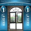 Thermal Break Aluminum Arc Window with Different Colors
