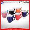 Wholesale Colorful Ceramic Mug with Spoon Holder