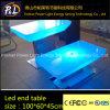 LED Light Furniture Colorful End Table
