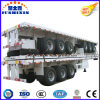 40 Feet 3 Axle Flatbed Container Semi Trailer