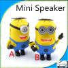 Christmas Gifts New Cute Cartoon Despicable Me Mini Speaker with USB/ SD/ TF Card/ FM Audio for MP3 Mobile Phone Computer