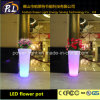 PE Material Rotational Moulding LED Flower Pot
